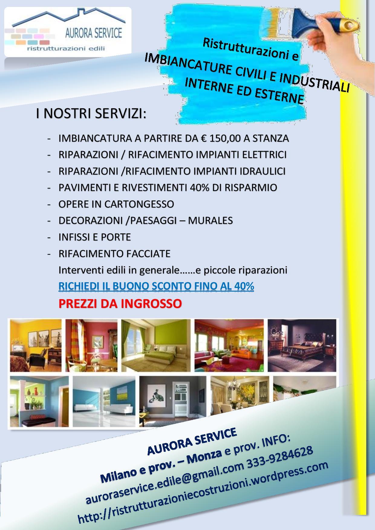 IMBIANCATURA | Ristrutturazioni Milano Prezzi da ingrosso